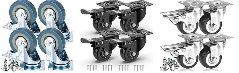 ruedas para palets